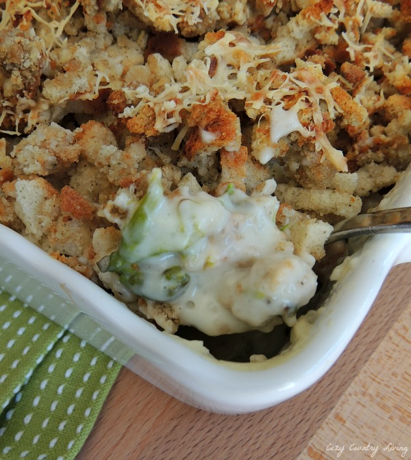 Creamy Chicken & Asparagus Casserole