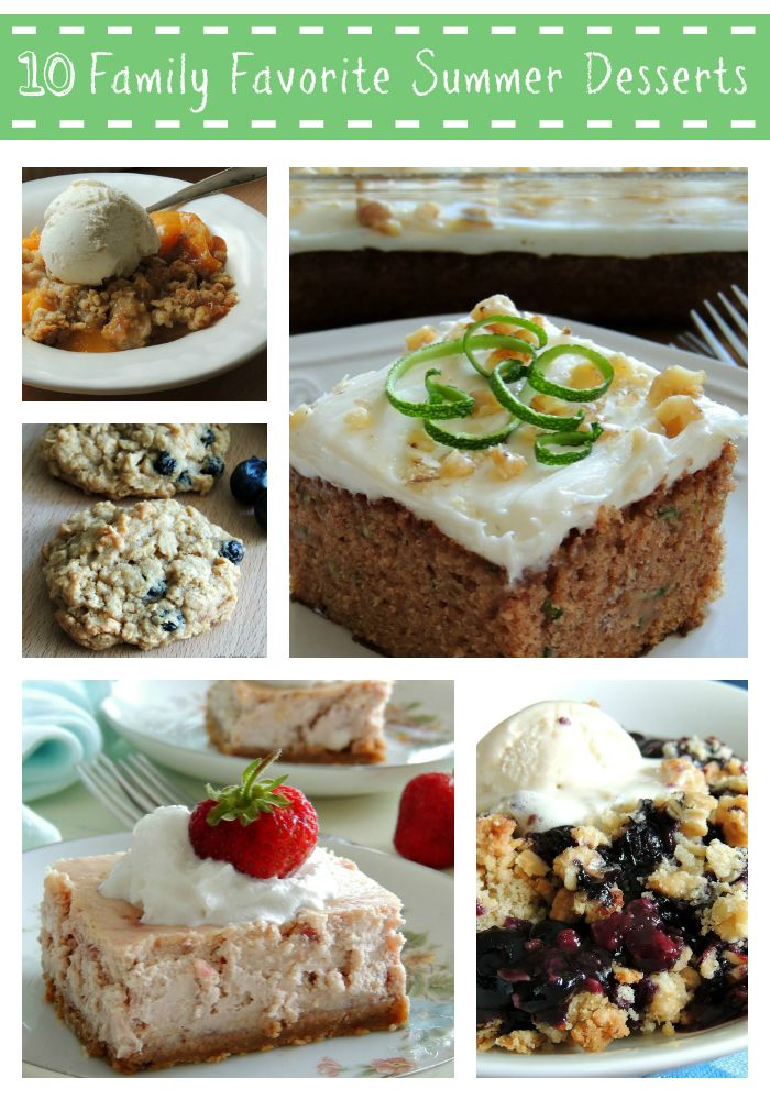 10 Family Favorite Summer Desserts Cozy Country Living